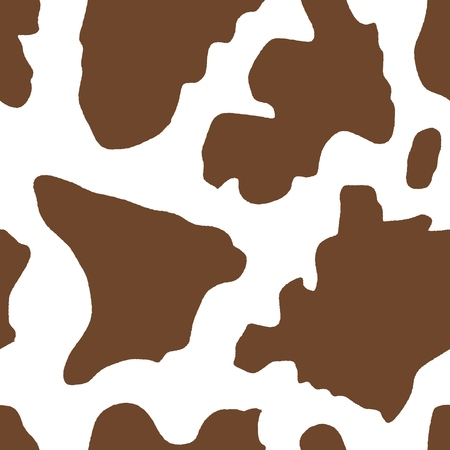 cow hide: Cow pattern - cattle hide vector. Seamless texture illustration.