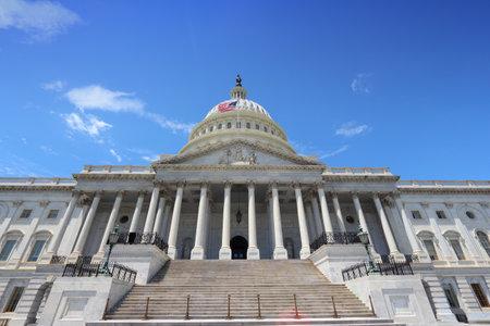 us capitol: US Capitol in Washington DC, United States landmark.