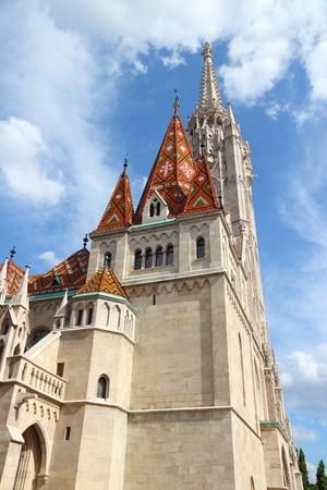 matthias church: Budapest, Hungary - Matthias Church. Gothic Roman Catholic church.