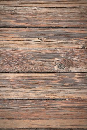 on wood floor: Old wooden outdoor floor boards. Vintage wood background.