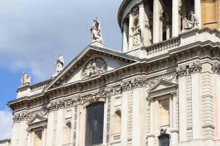saint pauls cathedral: Saint Pauls Cathedral in London, UK. Anglican church.