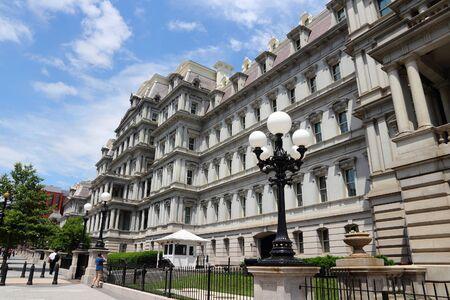 eisenhower: Washington DC, capital city of the United States. Eisenhower Executive Office Building.