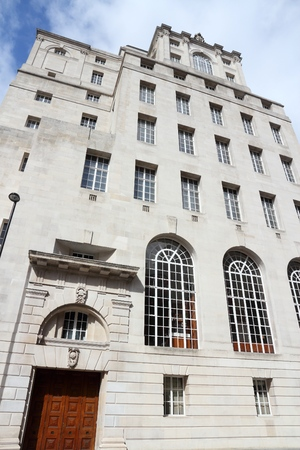 artdeco: Art deco architecture - old former bank in Manchester, UK.