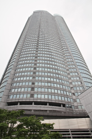 mori: TOKYO, JAPAN - MAY 9, 2012: Mori Tower, part of Roppongi Hills in Tokyo, Japan. Roppongi Hills was completed in 2003 and is one of Japans largest integrated property developments.