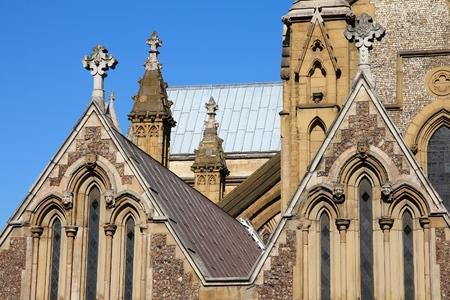 southwark: Southwark Cathedral - landmark of London, United Kingdom.