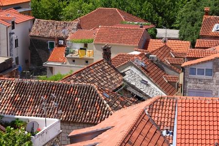 dalmatia: Croatia - Omis in Dalmatia. Old town view.