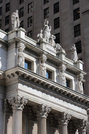 governmental: New York Supreme Court - Appellate Division. Governmental building. Stock Photo