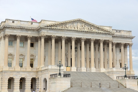 governmental: Washington DC, capital city of the United States. National Capitol building.