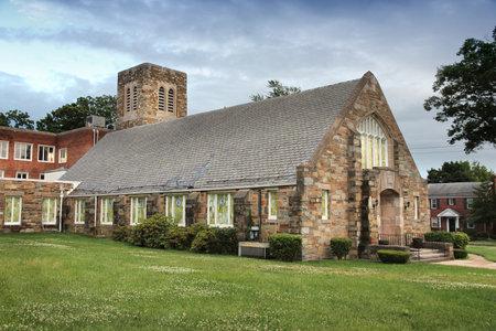 Washington D.C. - Takoma Park Baptist Church lawn.