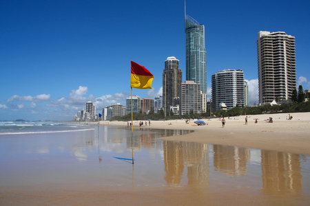 surfers paradise: Surfers Paradise, Australia - city skyline in the Gold Coast.