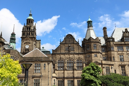 sheffield: Sheffield - city in South Yorkshire, UK. Town Hall.