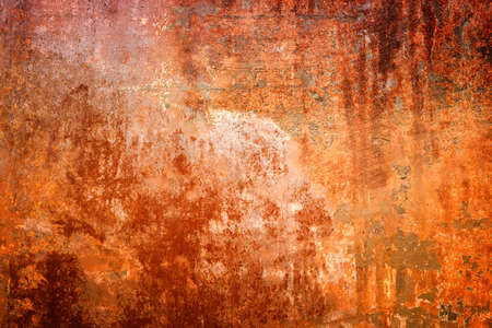 rusted: Rusted metal texture. Grunge old steel background.