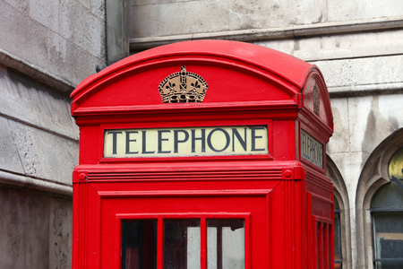 phonebooth: London phone boxes - red telephone kiosk in the UK.