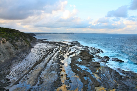 new south wales: Ulladulla coast landscape in Australia. New South Wales nature.