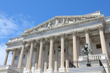 National Capitol in Washington DC, United States landmark.
