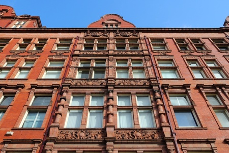 listed: Manchester, UK. University of Manchester, Sackville Street Building - Grade II listed building. Editorial