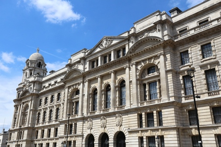 governmental: London, UK - governmental building at Whitehall. Old War Office.