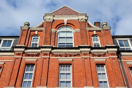 Birmingham en West Midlands, Inglaterra. Eye Hospital Midland Birmingham - centro de salud oftalmológica de edad. Foto de archivo - 69846461