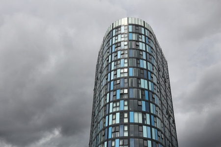hancock: SHEFFIELD, UK - JULY 10, 2016: Hancock and Lant Tower in Sheffield, Yorkshire, UK. It was designed by Cartwright Pickard architecture firm. Editorial
