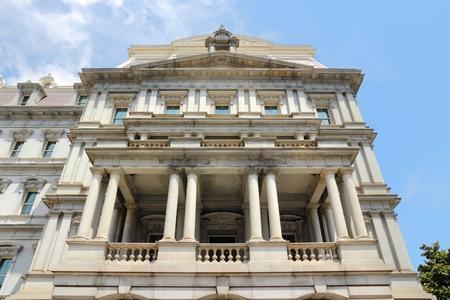 eisenhower: Washington DC, USA. Eisenhower Executive Office Building.