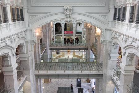 Madrid España Palacio De Cibeles Ayuntamiento De Madrid