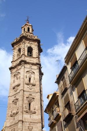 by catherine: Valencia, Spain. Saint Catherine tower (Torre Santa Catalina).