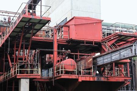 coking: Zollverein - industrial UNESCO World Heritage Site in Essen, Germany.