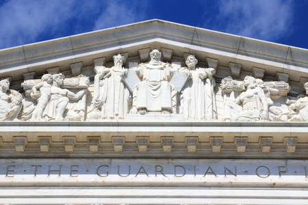 district of columbia: US Supreme Court building in Washington DC, United States of America. Editorial
