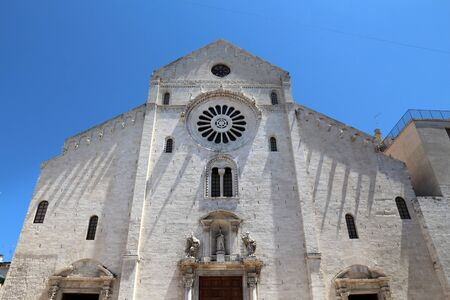 Bari Cathedral, Italy - Romanesque style church of San Sabino.