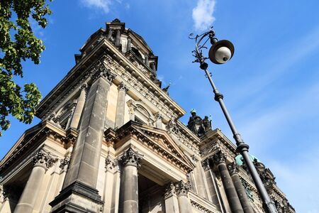 dom: Berlin, Germany. Capital city architecture - Berlin Cathedral (Berliner Dom), renaissance style landmark. Banque d'images