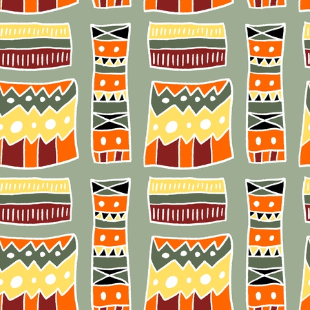Afrikaans patroon - artistieke stofmateriaal textuur.