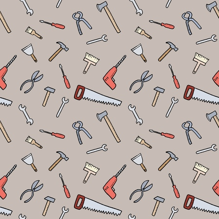 Tools Background Seamless Texture Diy And Woodworking Tools