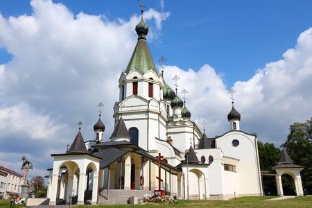 Presov, Slovakia - Orthodox Cathedral of St Prince Alexander Nevsky.