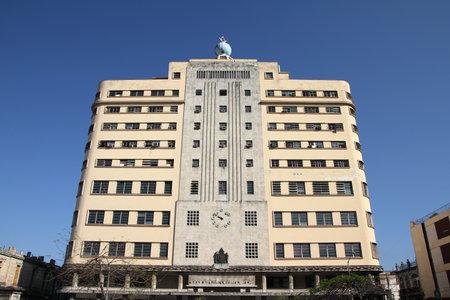 HAVANA, CUBA - FEBRUARY 27, 2011: The Grand Lodge of Cuba (Gran Logia de Cuba) building in Havana. Freemasonry in Cuba has more than 29,000 members. 新闻类图片