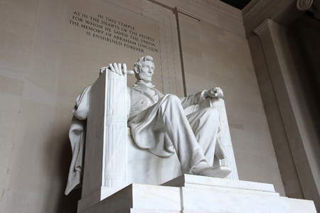 Lincoln Memorial in Washington D.C., United States. Stock fotó