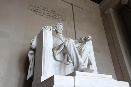 Lincoln Memorial in Washington D.C., United States. Stok Fotoğraf