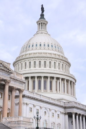 US National Capitol in Washington, DC. American landmark. Stock Photo