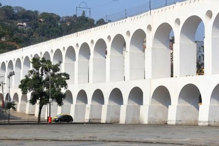 Brazil - Rio de Janeiro. Arcos de Lapa - former Carioca Aqueduct. Imagens
