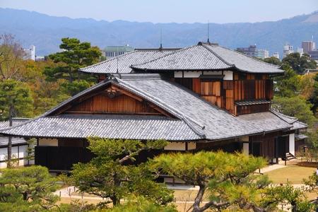 Nijo Castle in Kyoto, Japan - historic landmark of Tokugawa shogunate. UNESCO World Heritage Site. 写真素材