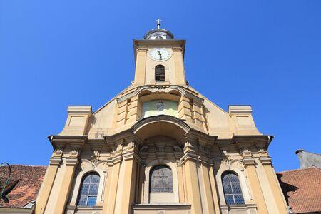 Saint Peter and Paul Church in Brasov, Romania.