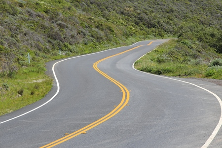 California - state route in Marin County. Pacific Coast Highway. Part known as Shoreline Hwy 1.