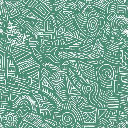 Quirky doodle texture - scribble seamless background