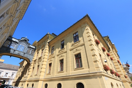 Szeged, Hungary - the Town Hall. Local administration building.