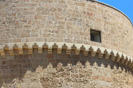 Nardo in Apulia, Italy. Castle view - Castello Acquaviva. Reklamní fotografie