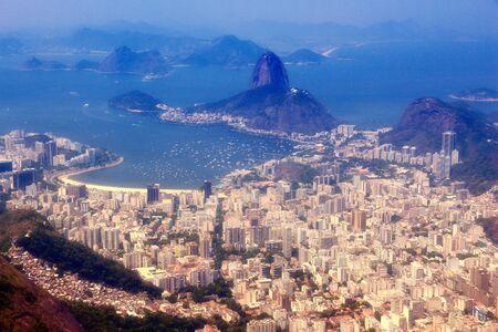 Cityscape of Rio de Janeiro, Brazil. Urban islands.