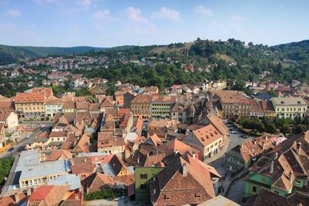 Sighisoara - town in the region of Transylvania, Romania.