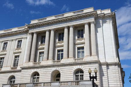 US Senate in Washington D.C. Russell Senate Office Building. Editorial