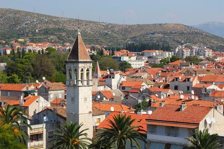Croatia - skyline of Trogir in Dalmatia