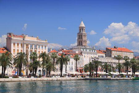 Split. Old Town in Croatia. Reklamní fotografie