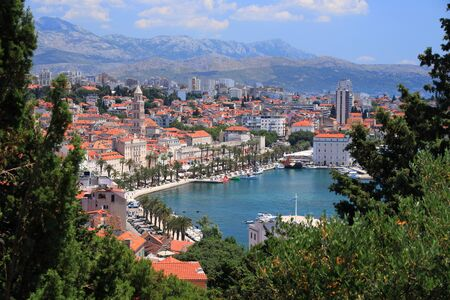 Split. Old Town in Croatia.
